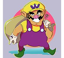 Wario Design Photographic Print
