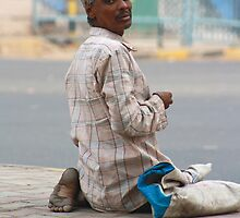 Not What He Seems, New Delhi, India by RIYAZ POCKETWALA