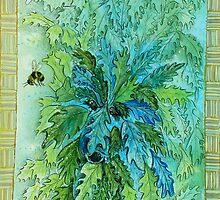 Green Man #5 by Kay Hale