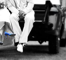 Blue Foot Bride by LAaustin
