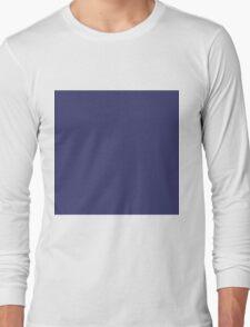 USA Flag Blue Royal Blue Deep Blue Long Sleeve T-Shirt