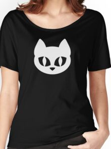 White Cat Head Women's Relaxed Fit T-Shirt