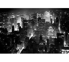Sleepless In Manhattan Photographic Print