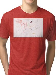 Willow Watched at the Back Fence Tri-blend T-Shirt