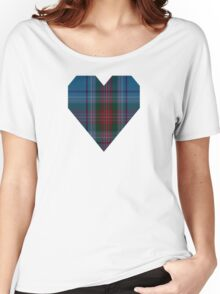 00339 Louth County District Tartan Women's Relaxed Fit T-Shirt