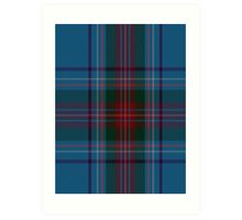 00339 Louth County District Tartan Art Print