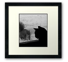 Guest at the Door Framed Print