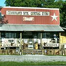 """Cumberland Mountain General Store (color version)""... prints and products by © Bob Hall"