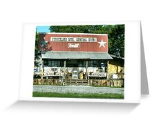 """""""Cumberland Mountain General Store (color version)""""... prints and products Greeting Card"""