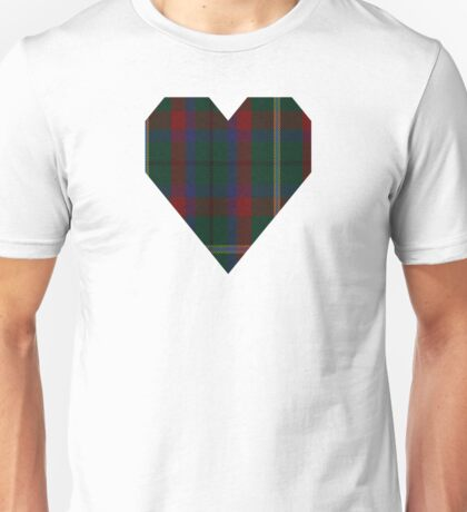 00341 Mayo County District Tartan Unisex T-Shirt