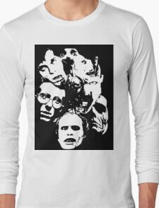Zombie Icons Long Sleeve T-Shirt