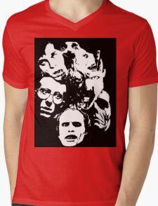 Zombie Icons Mens V-Neck T-Shirt