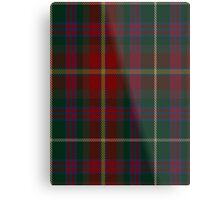 00343 Meath County District Tartan  Metal Print
