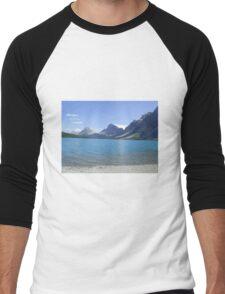 Banff, Alberta, Canada Men's Baseball ¾ T-Shirt