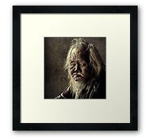 Man in Penang #0101 Framed Print