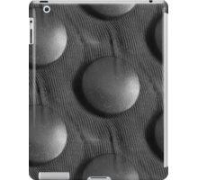 Seamless gray button pattern iPad Case/Skin