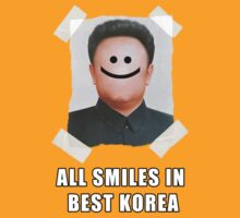 All Smiles In best Korea  by Joshua  Draffin