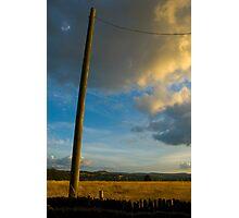 Pole Photographic Print