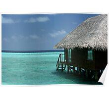 Water Villa - Veligandu, The Maldives Poster