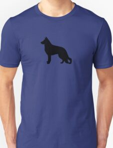 German Shepherd Dog Silhouette T-Shirt