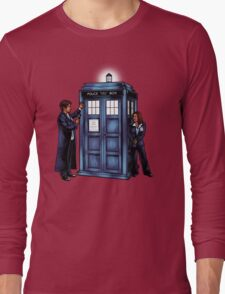 The Agents have the Phone Box Long Sleeve T-Shirt