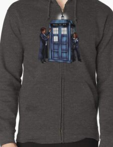The Agents have the Phone Box Zipped Hoodie