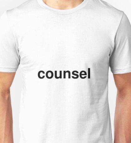 counsel Unisex T-Shirt