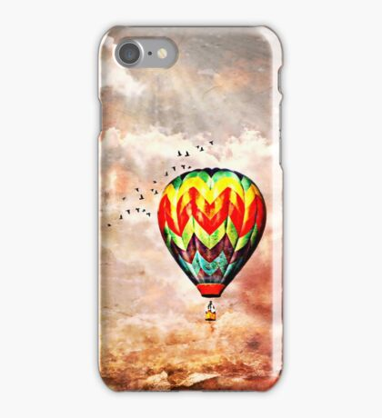 Following the Moon  iPhone Case/Skin