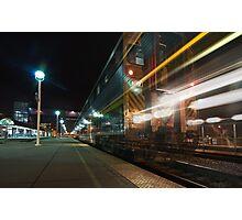 Night Train No. 8312 Photographic Print