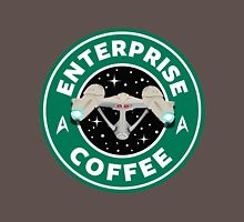 Enterprise Coffee (Star Trek) - Starbucks Mens V-Neck T-Shirt