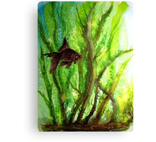Fish - Amongst the Reeds  Canvas Print