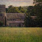 Rural Church by Karen  Betts
