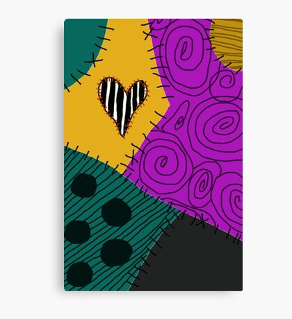Sally's New Patch Canvas Print