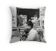 Ride with Pride Throw Pillow
