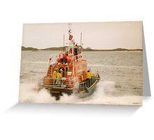 St Marys Lifeboat Greeting Card