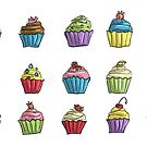 Card: Cupcakes by Kirsty Mordaunt