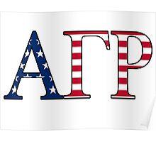 Alpha Gamma Rho America Poster