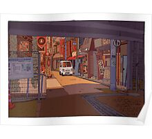 Under the station Poster