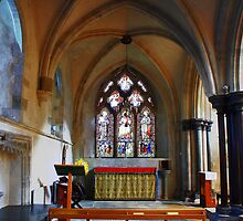 St Catherine's Chapel, St Mary and St Blaise, Boxgrove by Dave Godden