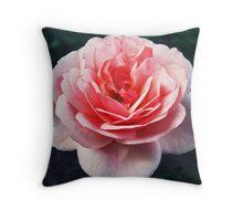 A camellia Throw Pillow