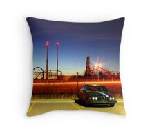 BMW OKC Throw Pillow