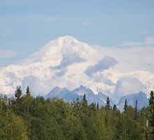 On a clear day - Mt. McKinley by bbegnaud