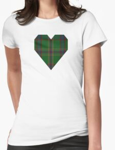 00344 Westmeath District Tartan  Womens Fitted T-Shirt