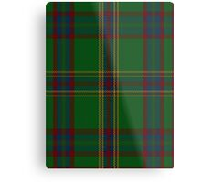 00344 Westmeath District Tartan  Metal Print