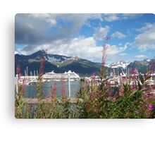 Embodiment of Seward AK Canvas Print