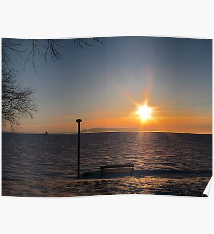 Northern Ontario Sunrise Poster