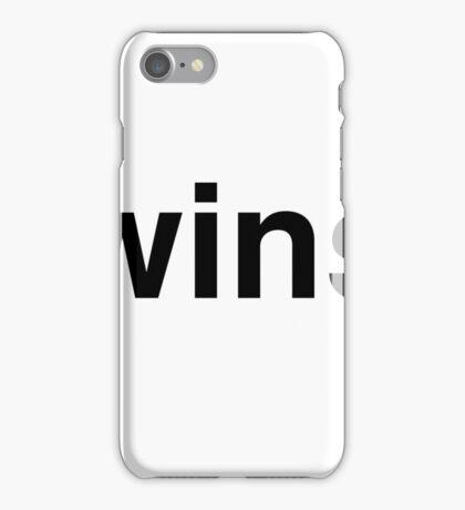 wins iPhone Case/Skin