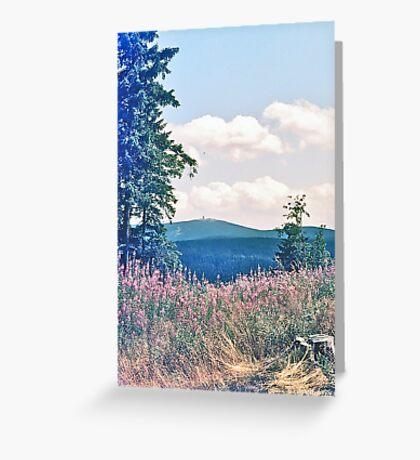 Harz Mountains Greeting Card