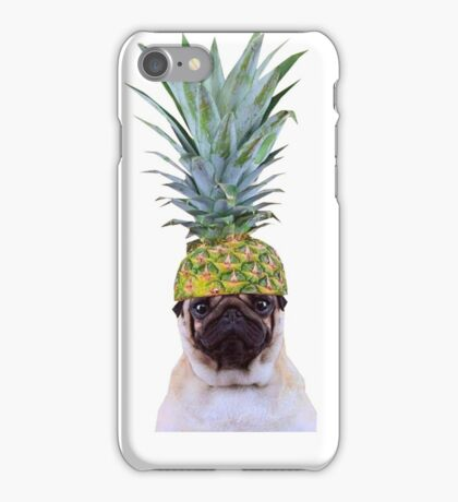 Pug Pineapple iPhone Case/Skin