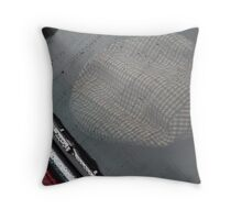 Tweed Under Glass Throw Pillow